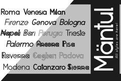 Mantul Pro - 19 Style font Product Image 3