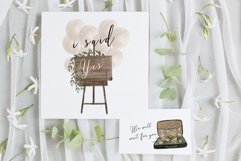 Wedding map creator watercolor Product Image 15