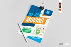 We Are Here Moving Announcement Flyer Template Product Image 3