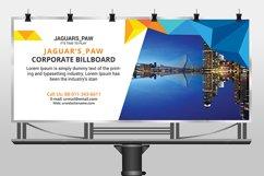 Professional corporate billboard template design Product Image 3