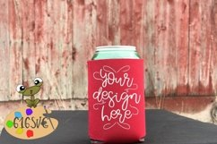 Red Can Cooler Mockup Product Image 1