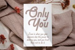 Goestea - Lovely Display Font Product Image 4