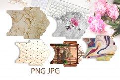 Junk Journal. Scrapbook Envelope Template 2 Product Image 3
