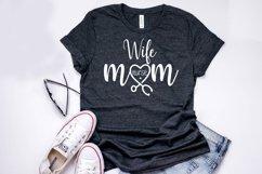 Wife Mom Nurse - Nurse SVG Cut Files Product Image 2