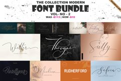 THE COLLECTION MODERN FONT BUNDLE VOL-2 Product Image 1