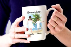Family clipart Mother's day clipart Summer Mug design Png Product Image 6