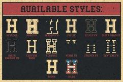Bodybuilder Layered Font plus Bonus Product Image 4
