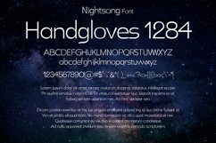 Nightsong Font Product Image 2
