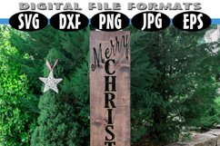 Christmas Porch Wood Sign SVG Product Image 3