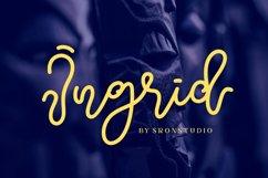 Ingrid Script Product Image 1