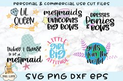 Little Girl Bundle of 6 SVGs Product Image 1