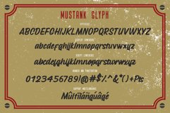 Mustank Casual Script Product Image 2