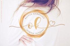 Lovely Script - Lorden Holen Font Product Image 3