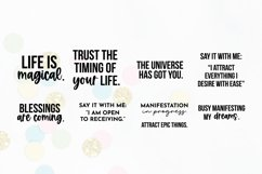 Law Of Attraction Quote SVG Bundle Volume 1 | Manifestation Product Image 5