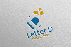 Letter D Digital Marketing Financial Logo 67 Product Image 1