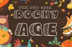 Rocky Age - Kids Font Product Image 1