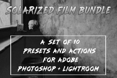 Solarized Film Lightroom Presets and Photoshop Actions Set Product Image 1