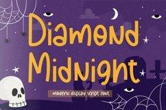 Diamond Midnight Modern Display Script Font Product Image 1