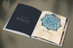 Floral Watercolor & Gold Mandala Product Image 8