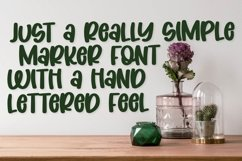 Coconut Wonder - A Simply Adorable Marker Font Product Image 2