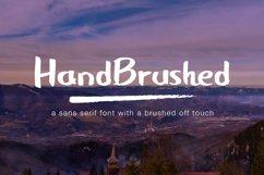 HandBrushed Font Product Image 1