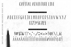 Font Duo Skyline Adventure Product Image 5