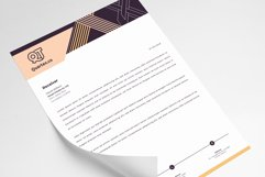 Letterhead Pad Template Word Apple Pages Product Image 4