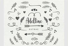 Adelline   beautiful elegant font Product Image 6