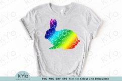 Distressed Easter Bunny Svg, Printable Easter Shirt Design Product Image 2