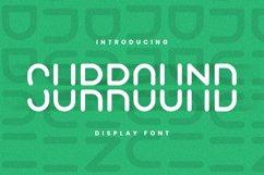 SURROUND Font Product Image 1