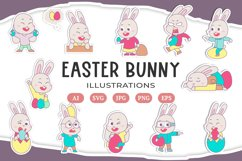 Easter Bunny Illustrations Product Image 1