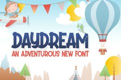 Daydream Kids Font Product Image 1
