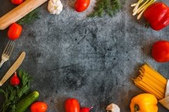 Vegetables on a concrete background Product Image 4