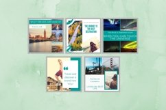 Instagram Post Template- Travel Blogger Product Image 4