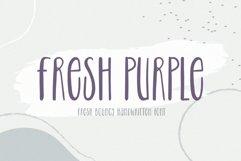 Fresh Purple - Handwritten Font Product Image 1