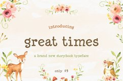 Great Times Font Product Image 1