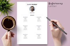 Modern Resume CV Template for Word & Pages Quinn Murray Product Image 6
