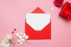 Valentines day blank sheet in envelope Product Image 1