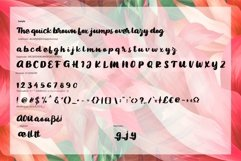 Bigted   Rough Script Font Product Image 6
