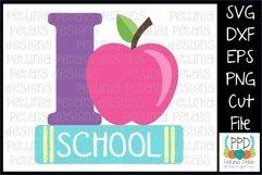 I Love School SVG 11295 Product Image 1