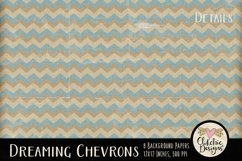 Dreaming Chevron Beachy Background Textures Product Image 2