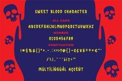 Sweet Blood - Horror Typeface Product Image 3