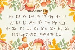 Web Font Mushroom Product Image 3