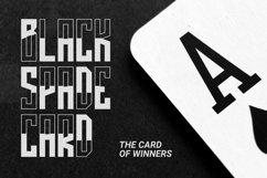 Web Font BLACKCARD Font Product Image 5