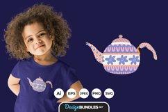 ScandinavianTea Kettle for T-Shirt Design Product Image 1