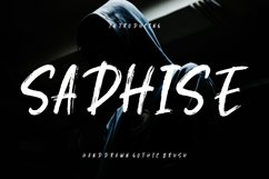 Sadhise Handdrawn Gothic Brush Product Image 1