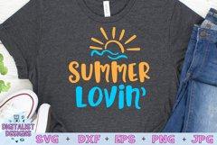 Summer Lovin SVG, Summer SVG, Beach SVG Product Image 1