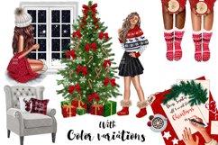 Fashion CHRISTMAS Girl Illustration Product Image 10