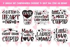 Little Love kids Valentine's Day SVG design Bundle Product Image 3