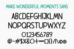 Make Wonderful Moments - Duo Font Product Image 2